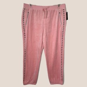 Juicy Couture Black Label Studded Pink Joggers
